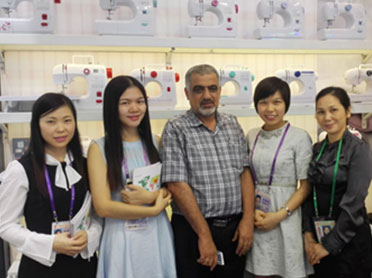 Warm congratulations on the successful conclusion of the Guangzhou Sewing Machinery Co., Ltd. 2016 autumn Canton fair!