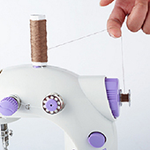 How to wind the bobbins?