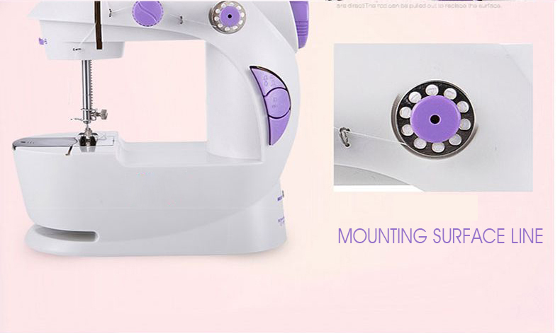 best mini sewing machine mounting surface line 201-7